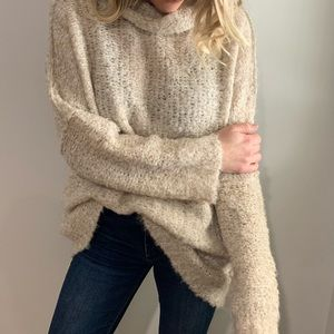 Oversized:FreePeople Sweater size small